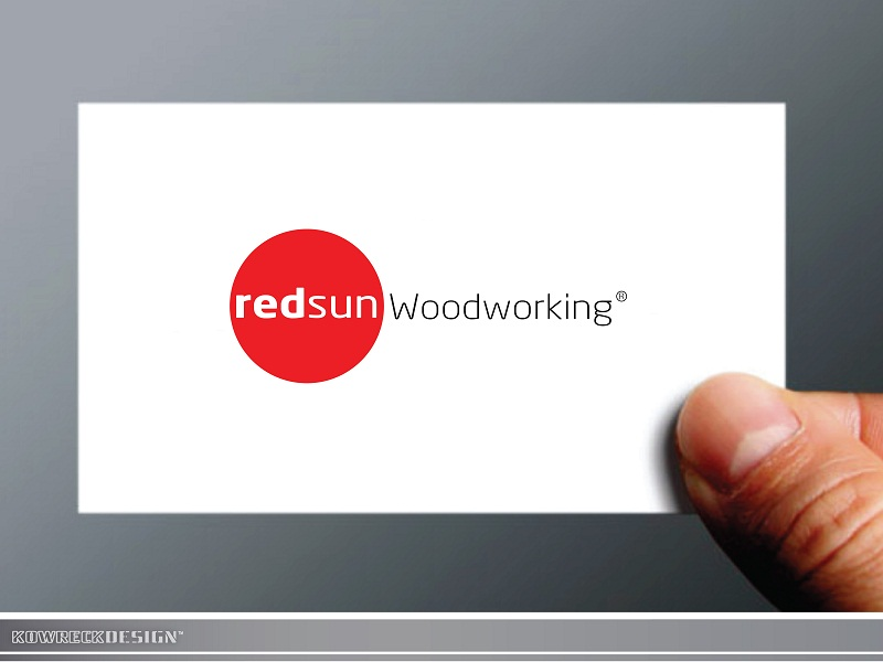Logo Design by kowreck - Entry No. 25 in the Logo Design Contest Red Sun Woodworking Logo Design.