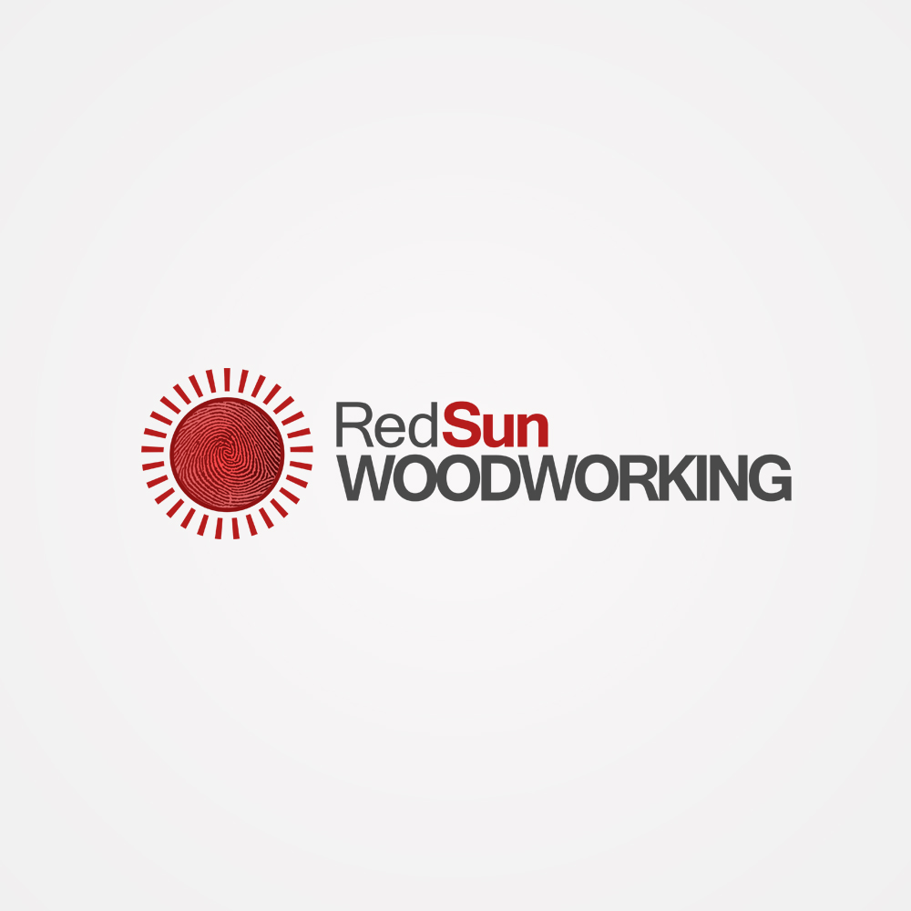 Logo Design by omARTist - Entry No. 26 in the Logo Design Contest Red Sun Woodworking Logo Design.