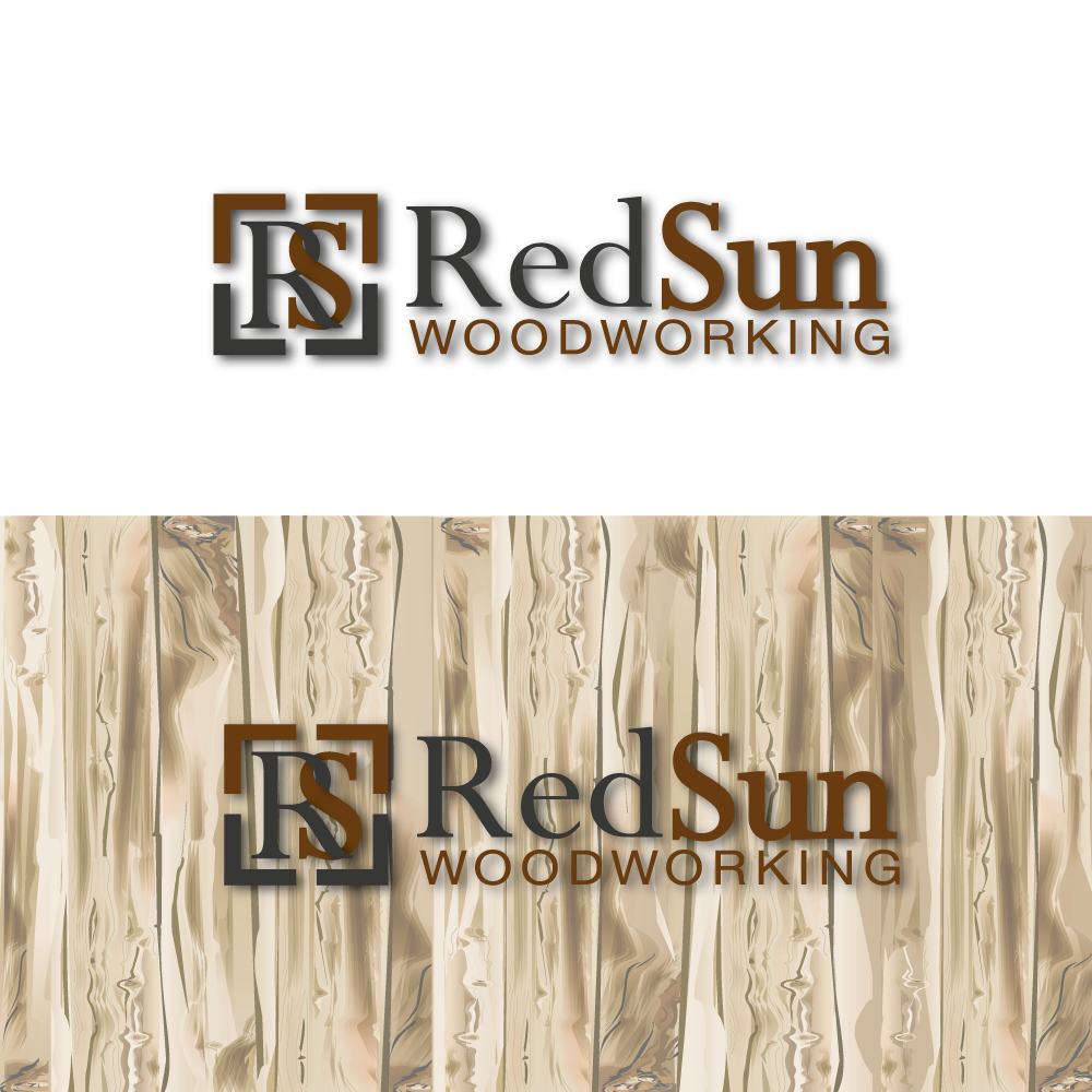 Logo Design by rockin - Entry No. 33 in the Logo Design Contest Red Sun Woodworking Logo Design.