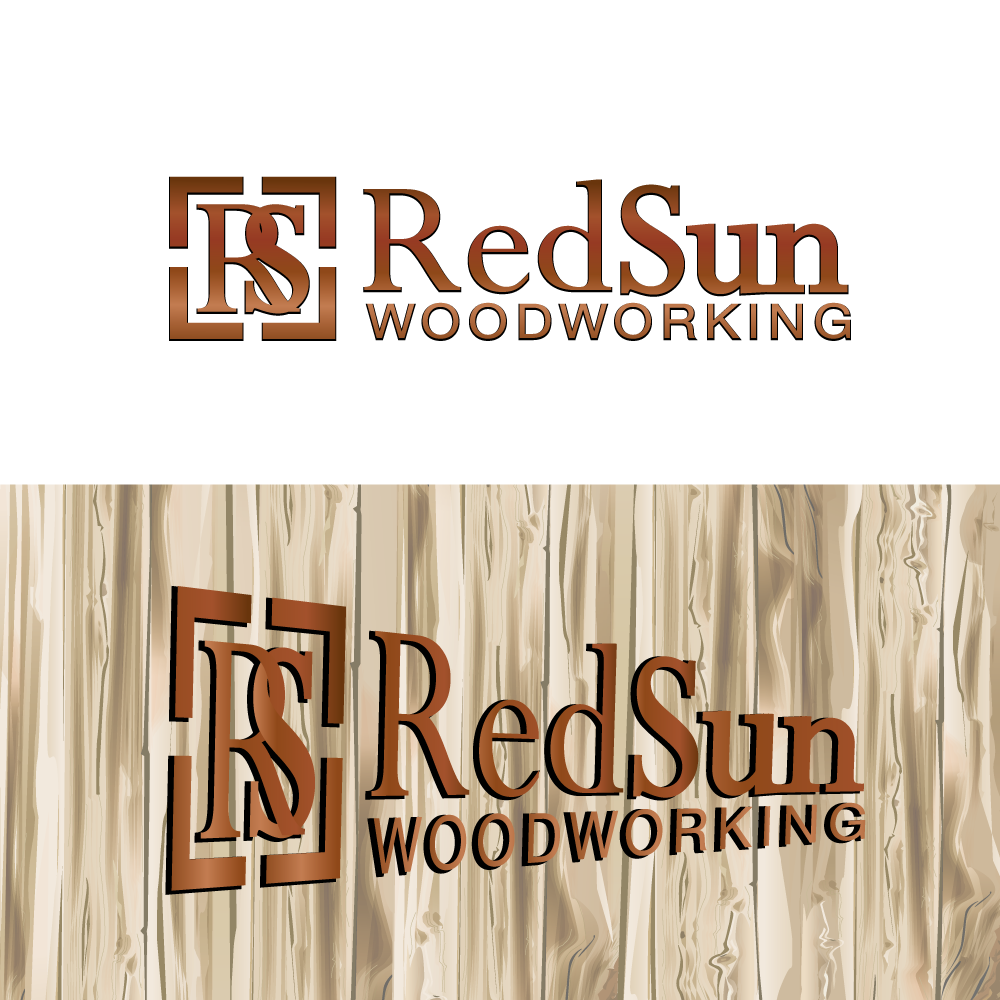 Logo Design by rockin - Entry No. 37 in the Logo Design Contest Red Sun Woodworking Logo Design.