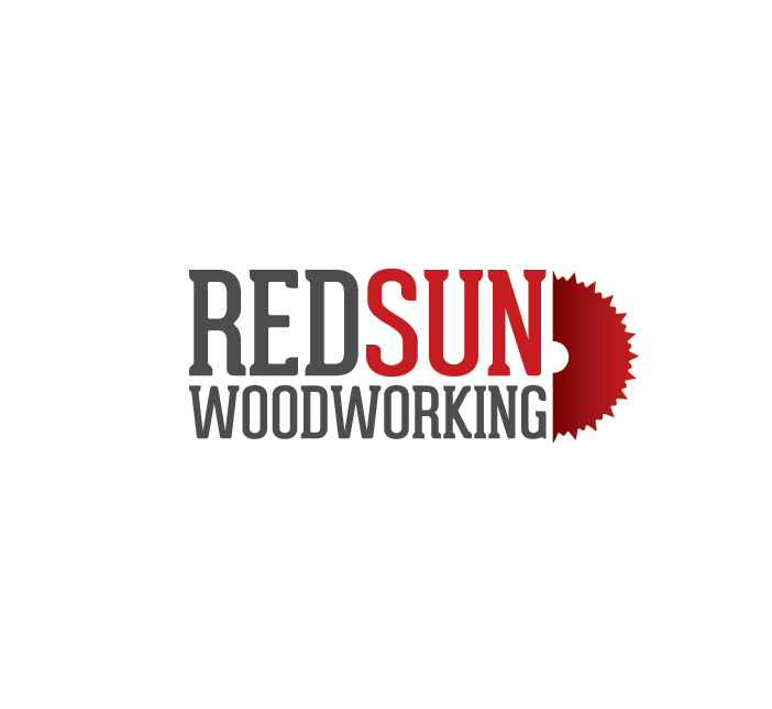 Logo Design by Dimitris Koletsis - Entry No. 45 in the Logo Design Contest Red Sun Woodworking Logo Design.
