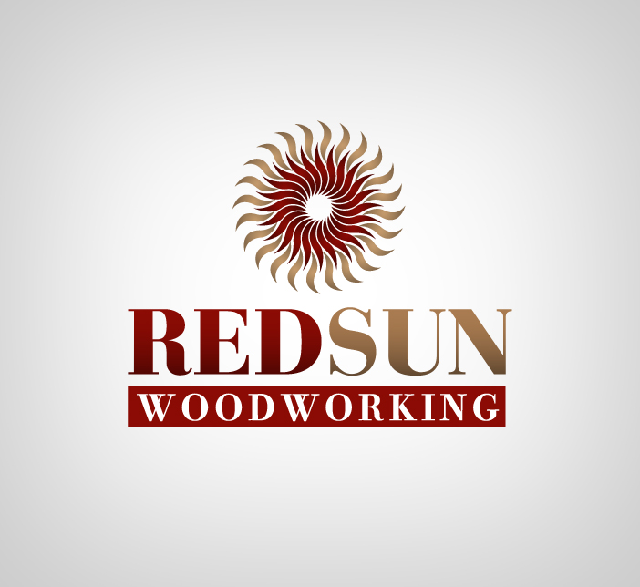 Logo Design by nausigeo - Entry No. 47 in the Logo Design Contest Red Sun Woodworking Logo Design.