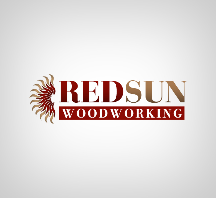 Logo Design by nausigeo - Entry No. 48 in the Logo Design Contest Red Sun Woodworking Logo Design.