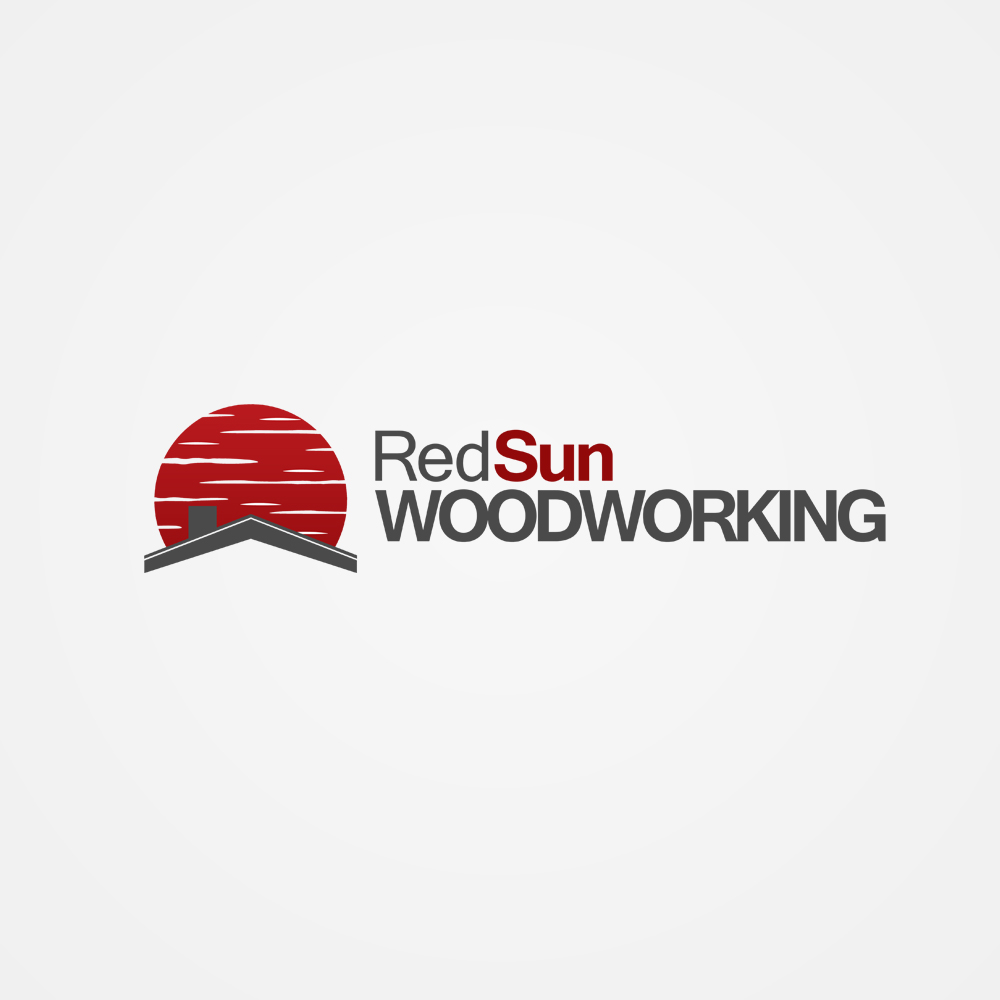 Logo Design by omARTist - Entry No. 57 in the Logo Design Contest Red Sun Woodworking Logo Design.