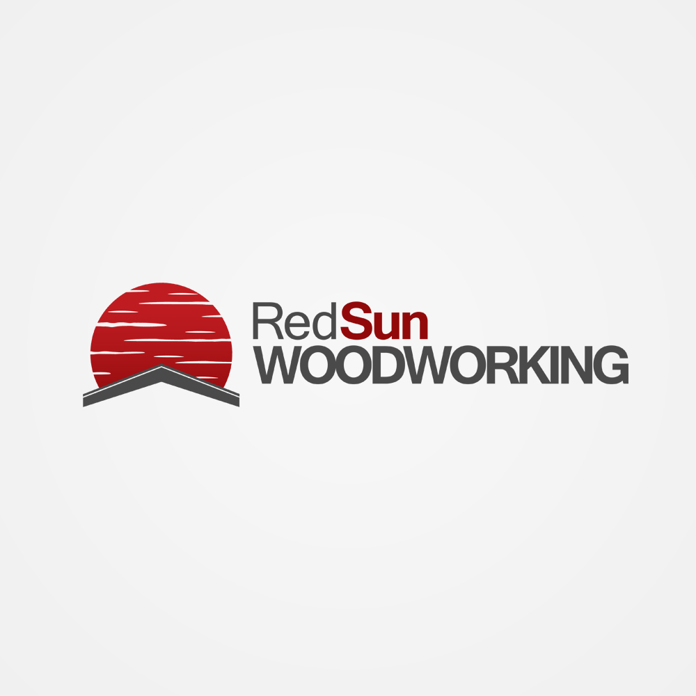 Logo Design by omARTist - Entry No. 58 in the Logo Design Contest Red Sun Woodworking Logo Design.