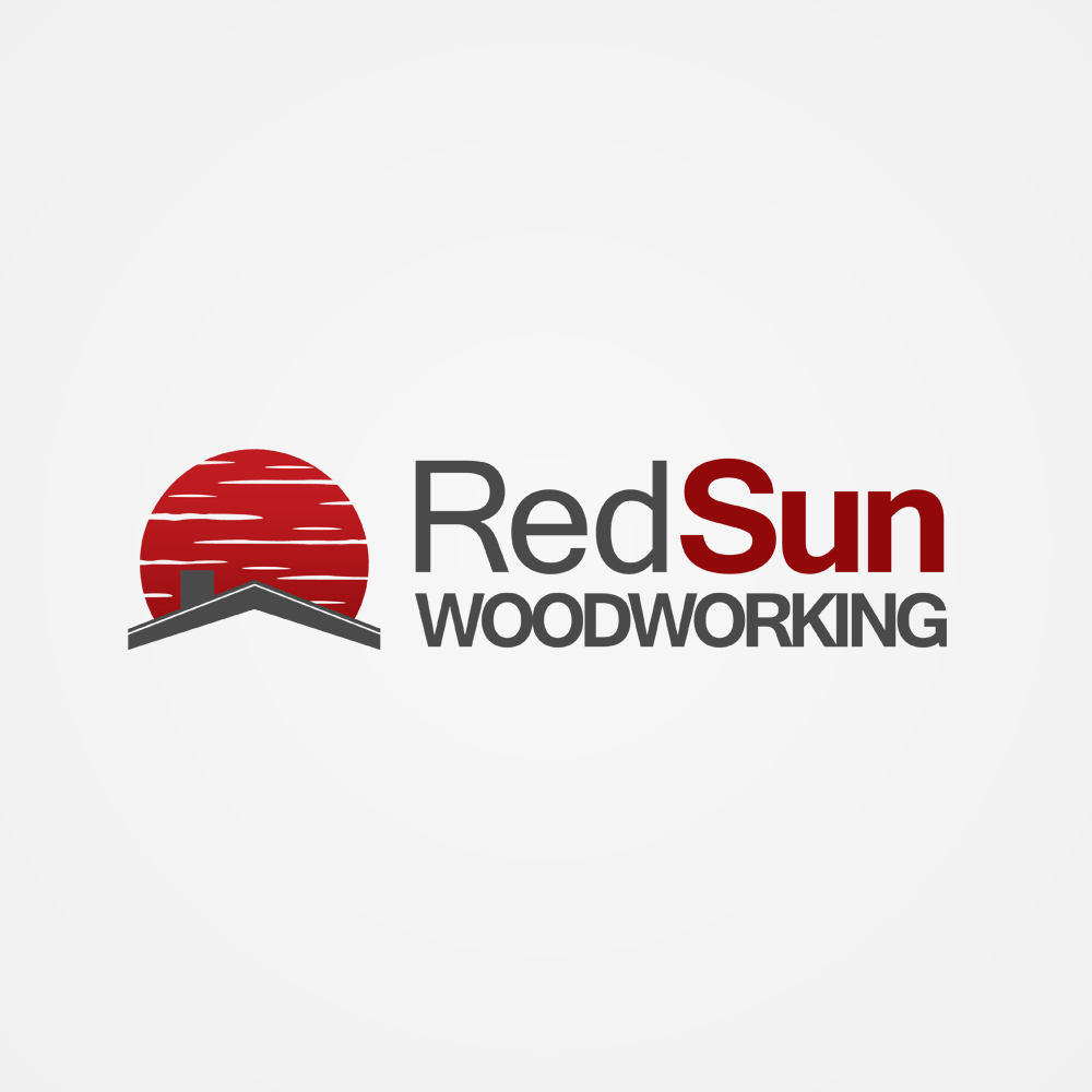 Logo Design by omARTist - Entry No. 59 in the Logo Design Contest Red Sun Woodworking Logo Design.