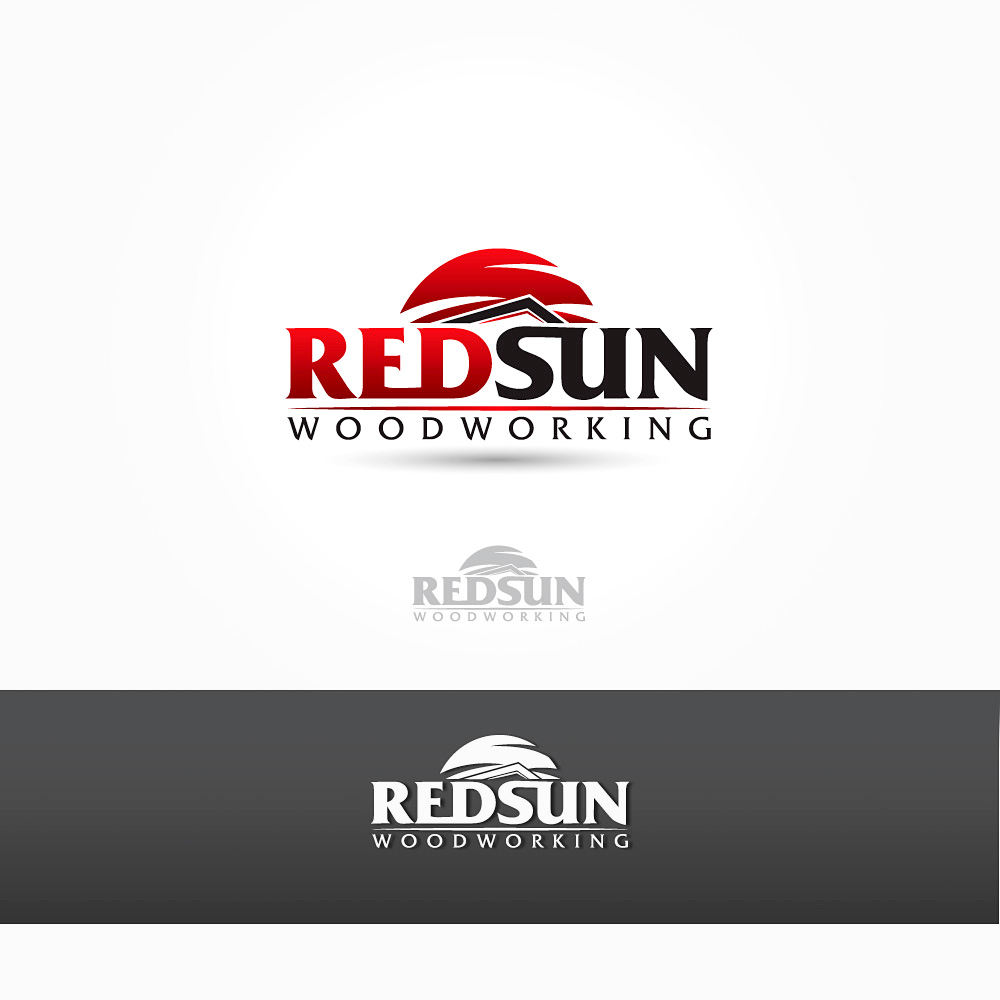 Logo Design by Private User - Entry No. 60 in the Logo Design Contest Red Sun Woodworking Logo Design.