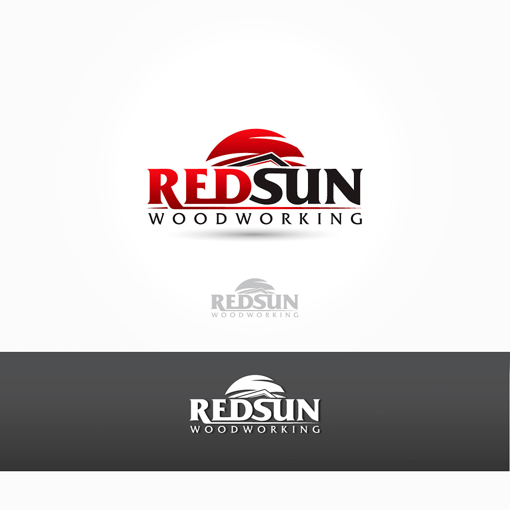 Logo Design by Private User - Entry No. 61 in the Logo Design Contest Red Sun Woodworking Logo Design.