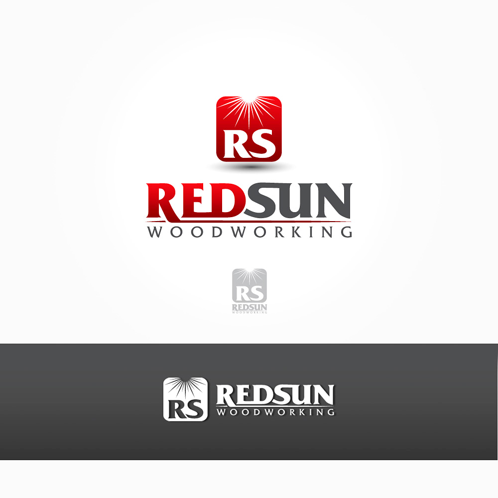 Logo Design by Private User - Entry No. 62 in the Logo Design Contest Red Sun Woodworking Logo Design.
