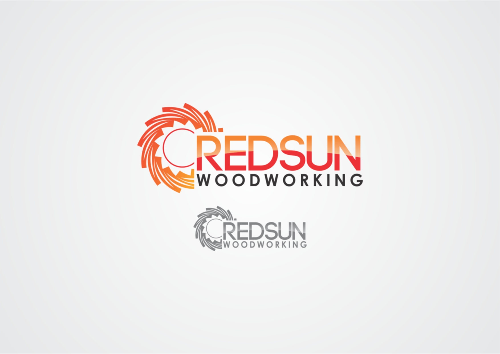 Logo Design by Private User - Entry No. 66 in the Logo Design Contest Red Sun Woodworking Logo Design.