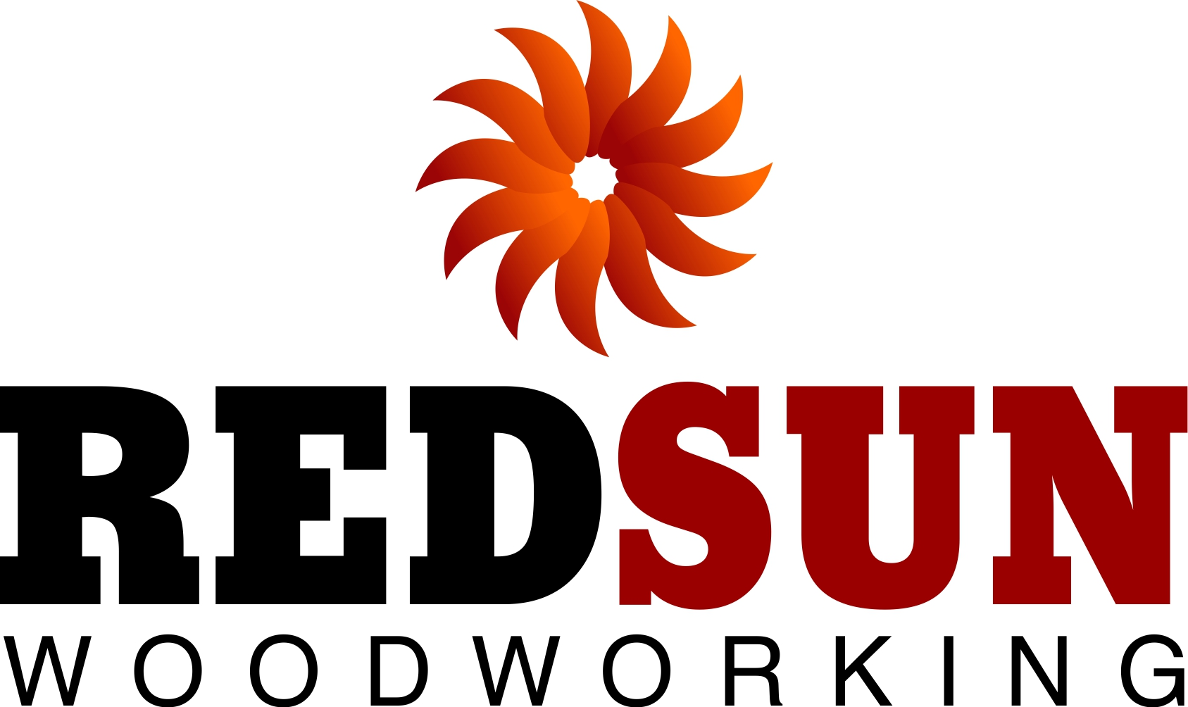 Logo Design by Private User - Entry No. 68 in the Logo Design Contest Red Sun Woodworking Logo Design.