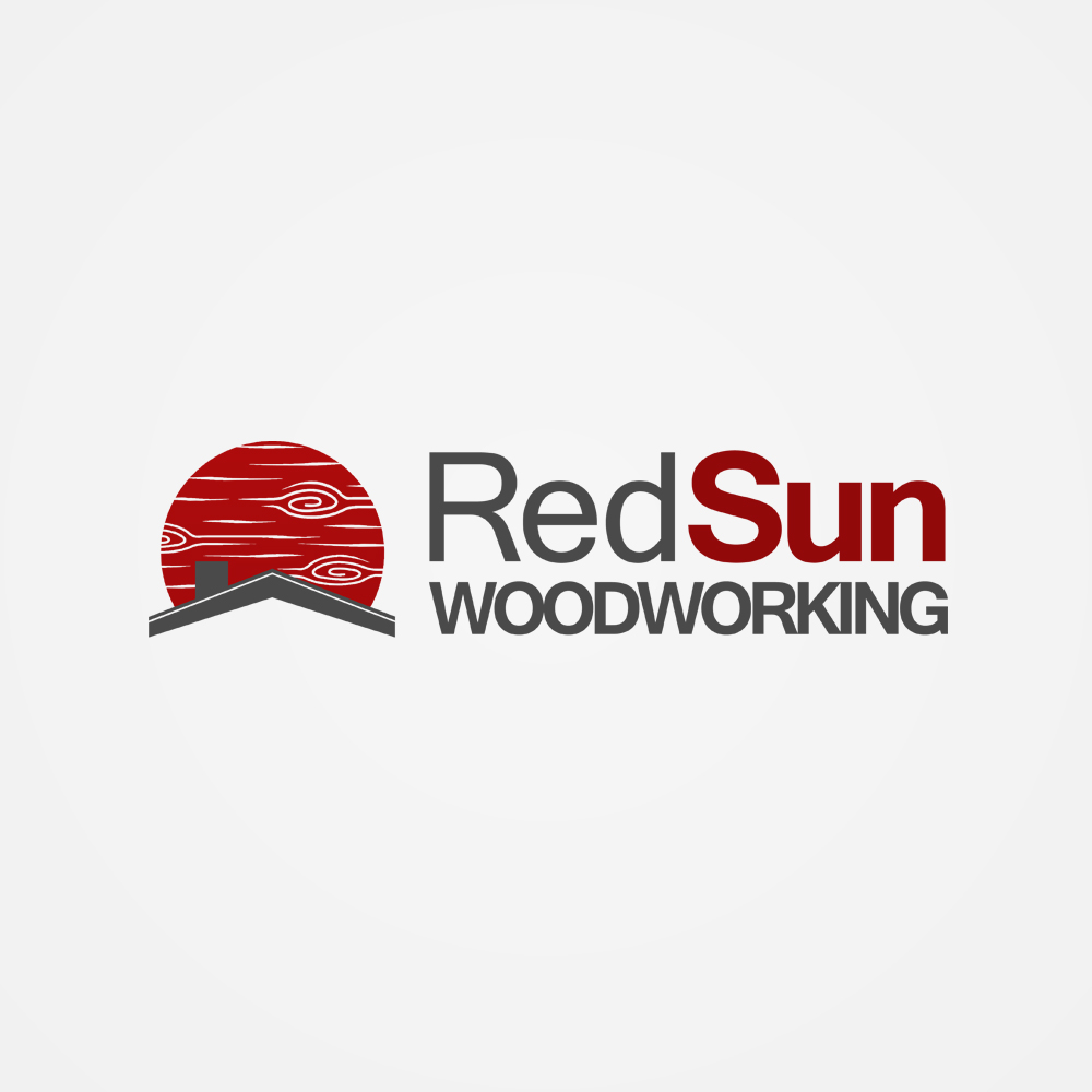 Logo Design by omARTist - Entry No. 71 in the Logo Design Contest Red Sun Woodworking Logo Design.