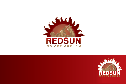 Logo Design by Private User - Entry No. 72 in the Logo Design Contest Red Sun Woodworking Logo Design.