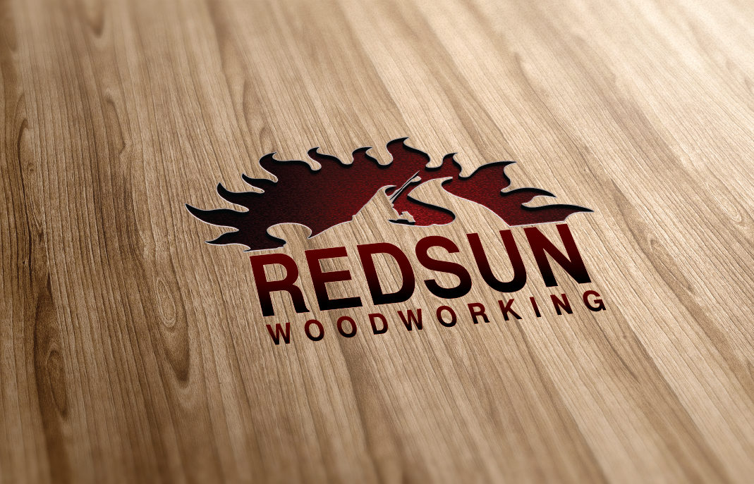 Logo Design by Private User - Entry No. 74 in the Logo Design Contest Red Sun Woodworking Logo Design.