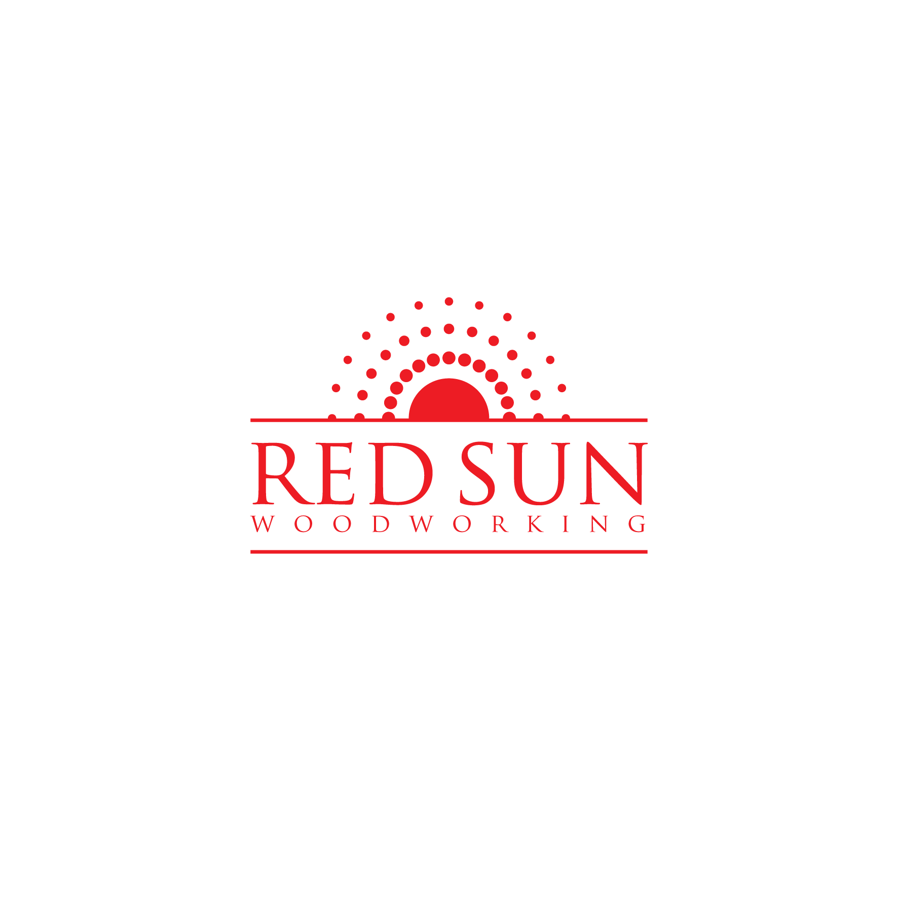 Logo Design by Mrs Suhartini - Entry No. 83 in the Logo Design Contest Red Sun Woodworking Logo Design.