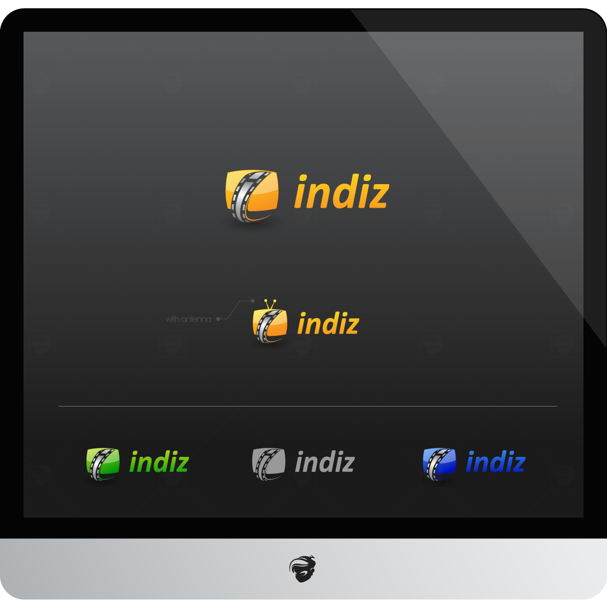 Logo Design by zesthar - Entry No. 180 in the Logo Design Contest Fun Logo Design for Indiz.
