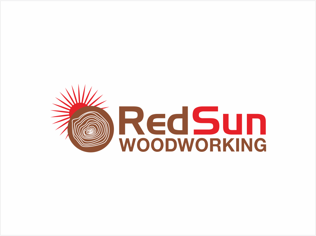 Logo Design by ninisdesign - Entry No. 87 in the Logo Design Contest Red Sun Woodworking Logo Design.