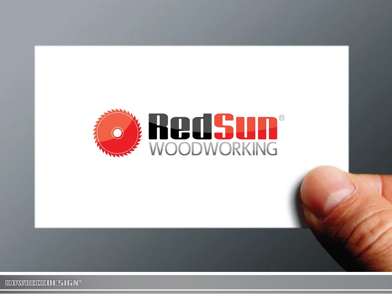 Logo Design by kowreck - Entry No. 90 in the Logo Design Contest Red Sun Woodworking Logo Design.