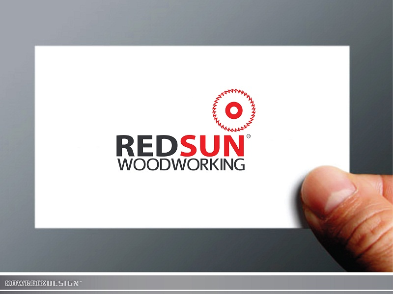 Logo Design by kowreck - Entry No. 95 in the Logo Design Contest Red Sun Woodworking Logo Design.