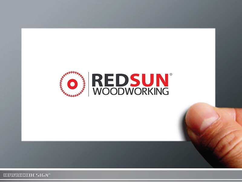 Logo Design by kowreck - Entry No. 96 in the Logo Design Contest Red Sun Woodworking Logo Design.