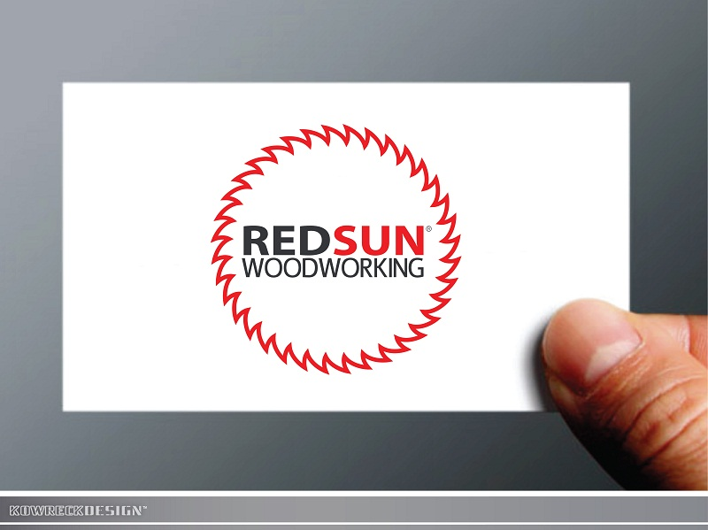 Logo Design by kowreck - Entry No. 97 in the Logo Design Contest Red Sun Woodworking Logo Design.