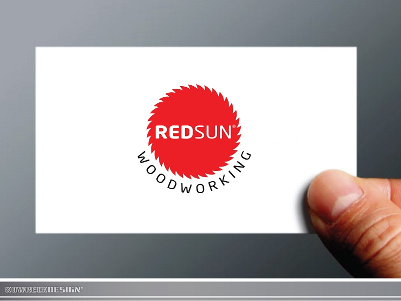 Logo Design by kowreck - Entry No. 98 in the Logo Design Contest Red Sun Woodworking Logo Design.