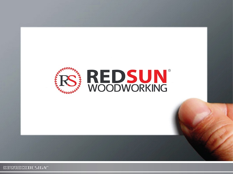 Logo Design by kowreck - Entry No. 99 in the Logo Design Contest Red Sun Woodworking Logo Design.