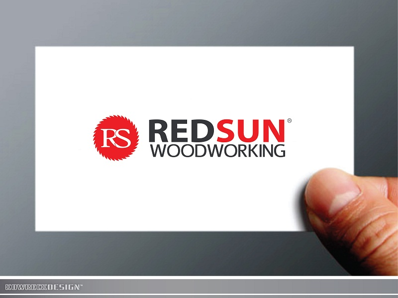 Logo Design by kowreck - Entry No. 100 in the Logo Design Contest Red Sun Woodworking Logo Design.