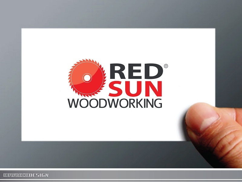 Logo Design by kowreck - Entry No. 101 in the Logo Design Contest Red Sun Woodworking Logo Design.