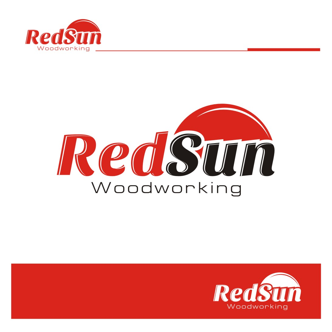Logo Design by Private User - Entry No. 102 in the Logo Design Contest Red Sun Woodworking Logo Design.