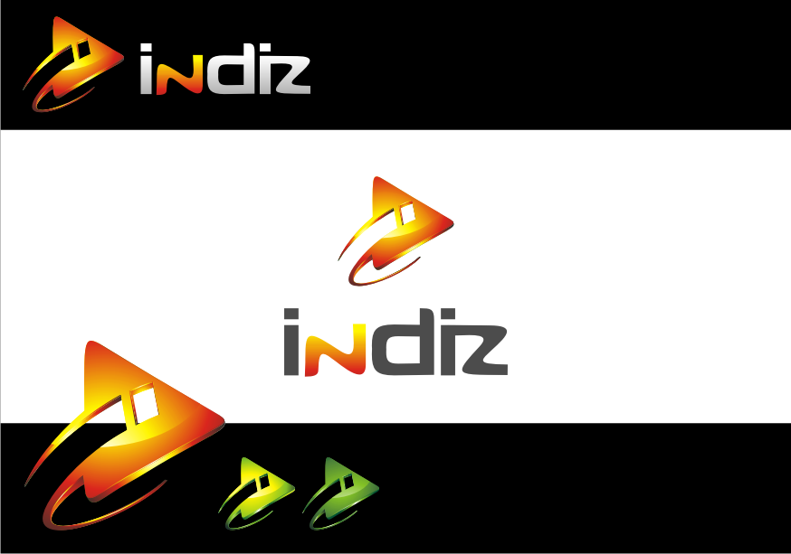 Logo Design by graphicleaf - Entry No. 194 in the Logo Design Contest Fun Logo Design for Indiz.