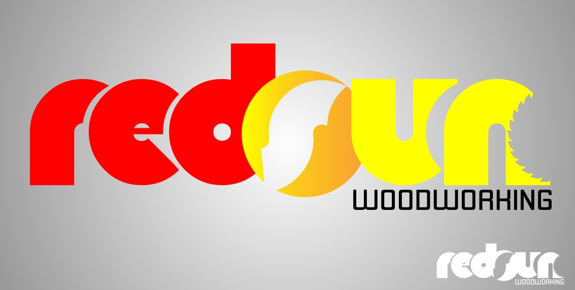 Logo Design by Crispin Vasquez - Entry No. 106 in the Logo Design Contest Red Sun Woodworking Logo Design.