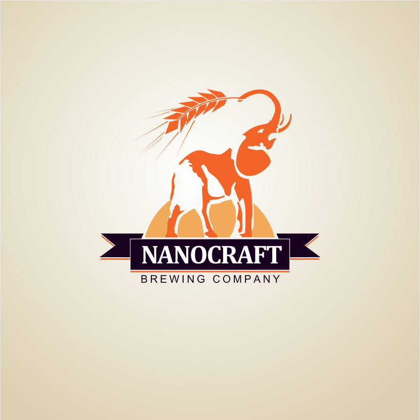 Logo Design by Jorge Sardon - Entry No. 54 in the Logo Design Contest Unique Logo Design Wanted for NanoCraft Brewing Company.
