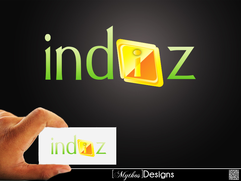 Logo Design by Mythos Designs - Entry No. 231 in the Logo Design Contest Fun Logo Design for Indiz.