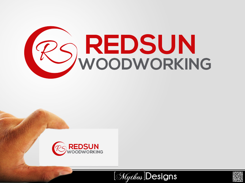 Logo Design by Mythos Designs - Entry No. 112 in the Logo Design Contest Red Sun Woodworking Logo Design.