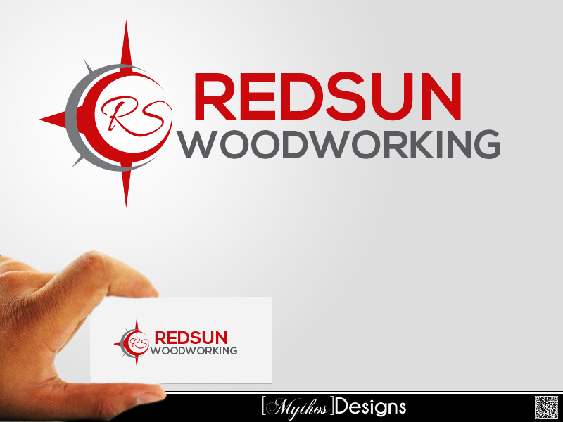 Logo Design by Mythos Designs - Entry No. 114 in the Logo Design Contest Red Sun Woodworking Logo Design.