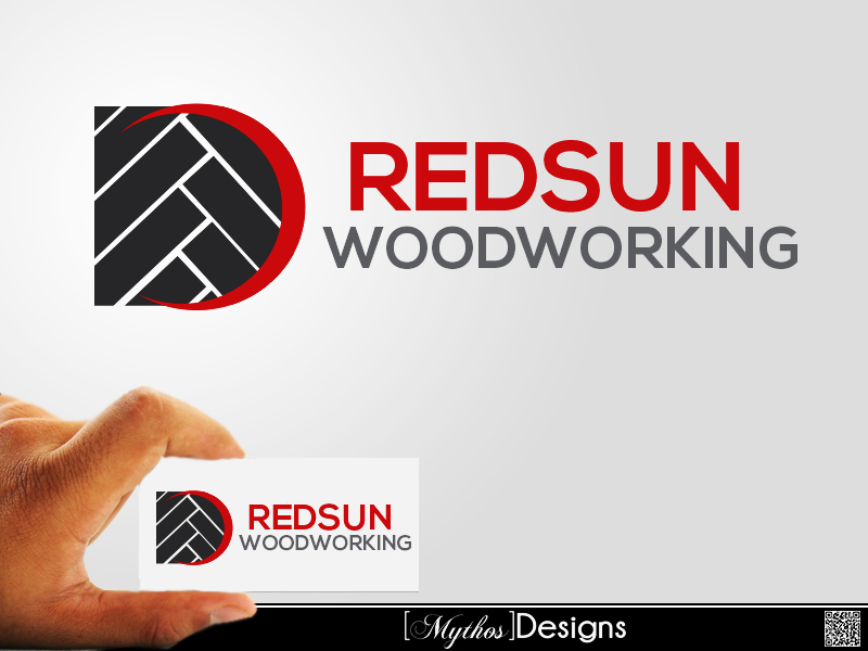 Logo Design by Mythos Designs - Entry No. 116 in the Logo Design Contest Red Sun Woodworking Logo Design.
