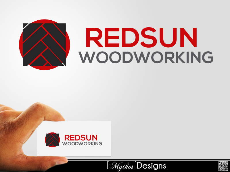Logo Design by Mythos Designs - Entry No. 117 in the Logo Design Contest Red Sun Woodworking Logo Design.