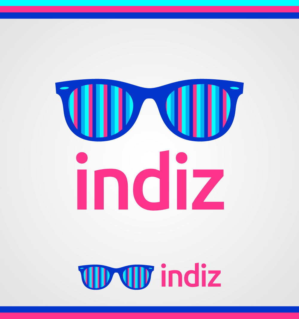 Logo Design by Mathias Frisa - Entry No. 246 in the Logo Design Contest Fun Logo Design for Indiz.