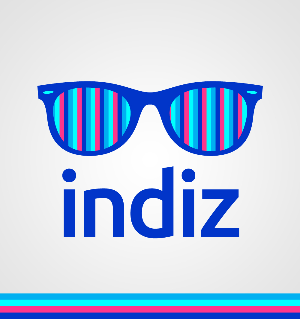 Logo Design by Mathias Frisa - Entry No. 247 in the Logo Design Contest Fun Logo Design for Indiz.