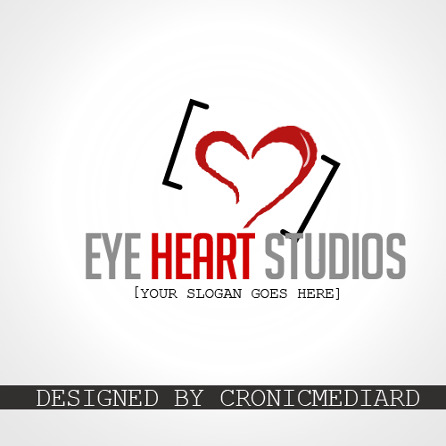 Logo Design by Christopher Restituyo - Entry No. 1 in the Logo Design Contest Unique Logo Design Wanted for Eye Heart Studios.