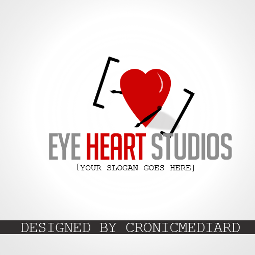 Logo Design by Christopher Restituyo - Entry No. 2 in the Logo Design Contest Unique Logo Design Wanted for Eye Heart Studios.
