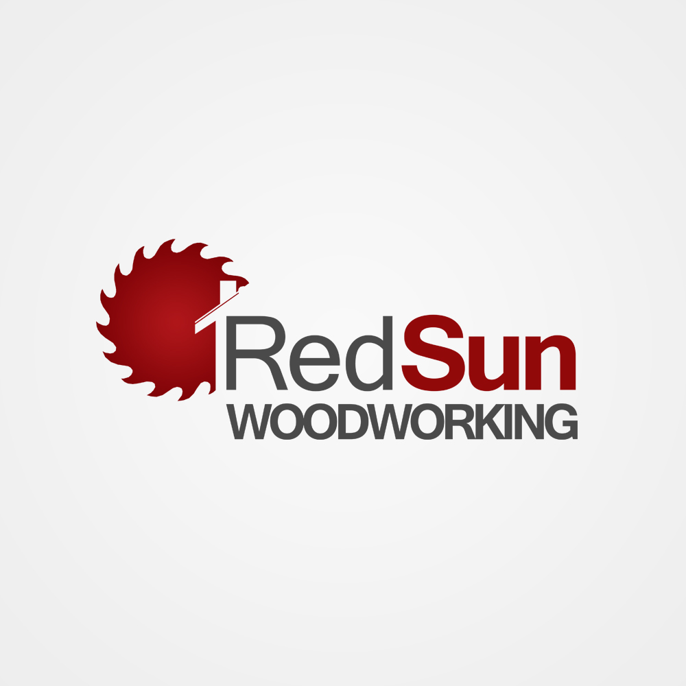 Logo Design by omARTist - Entry No. 125 in the Logo Design Contest Red Sun Woodworking Logo Design.