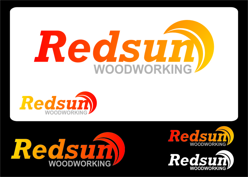 Logo Design by RoSyid Rono-Rene On Java - Entry No. 128 in the Logo Design Contest Red Sun Woodworking Logo Design.