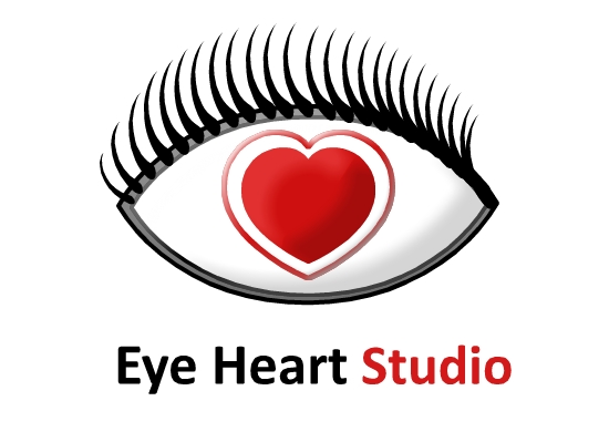 Logo Design by Ismail Adhi Wibowo - Entry No. 4 in the Logo Design Contest Unique Logo Design Wanted for Eye Heart Studios.