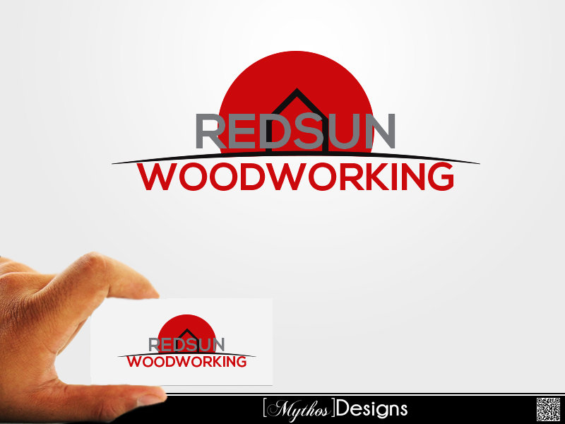 Logo Design by Mythos Designs - Entry No. 131 in the Logo Design Contest Red Sun Woodworking Logo Design.