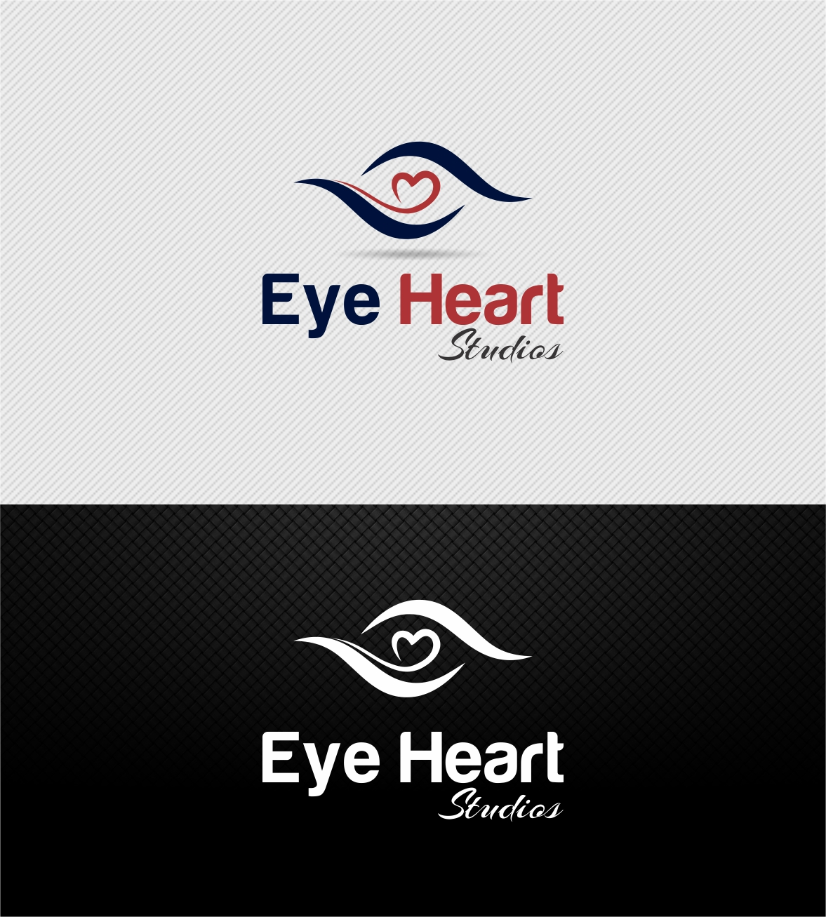 Logo Design by Muhammad Aslam - Entry No. 7 in the Logo Design Contest Unique Logo Design Wanted for Eye Heart Studios.