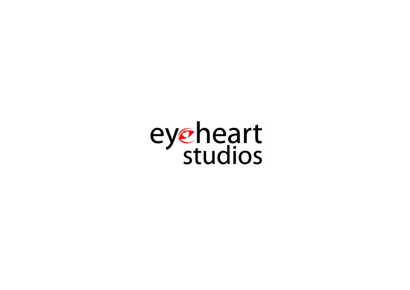 Logo Design by Osi Indra - Entry No. 8 in the Logo Design Contest Unique Logo Design Wanted for Eye Heart Studios.