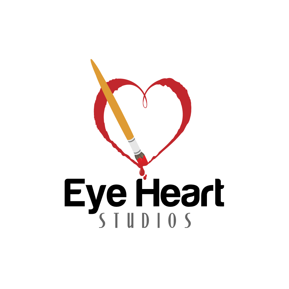 Logo Design by rockin - Entry No. 11 in the Logo Design Contest Unique Logo Design Wanted for Eye Heart Studios.