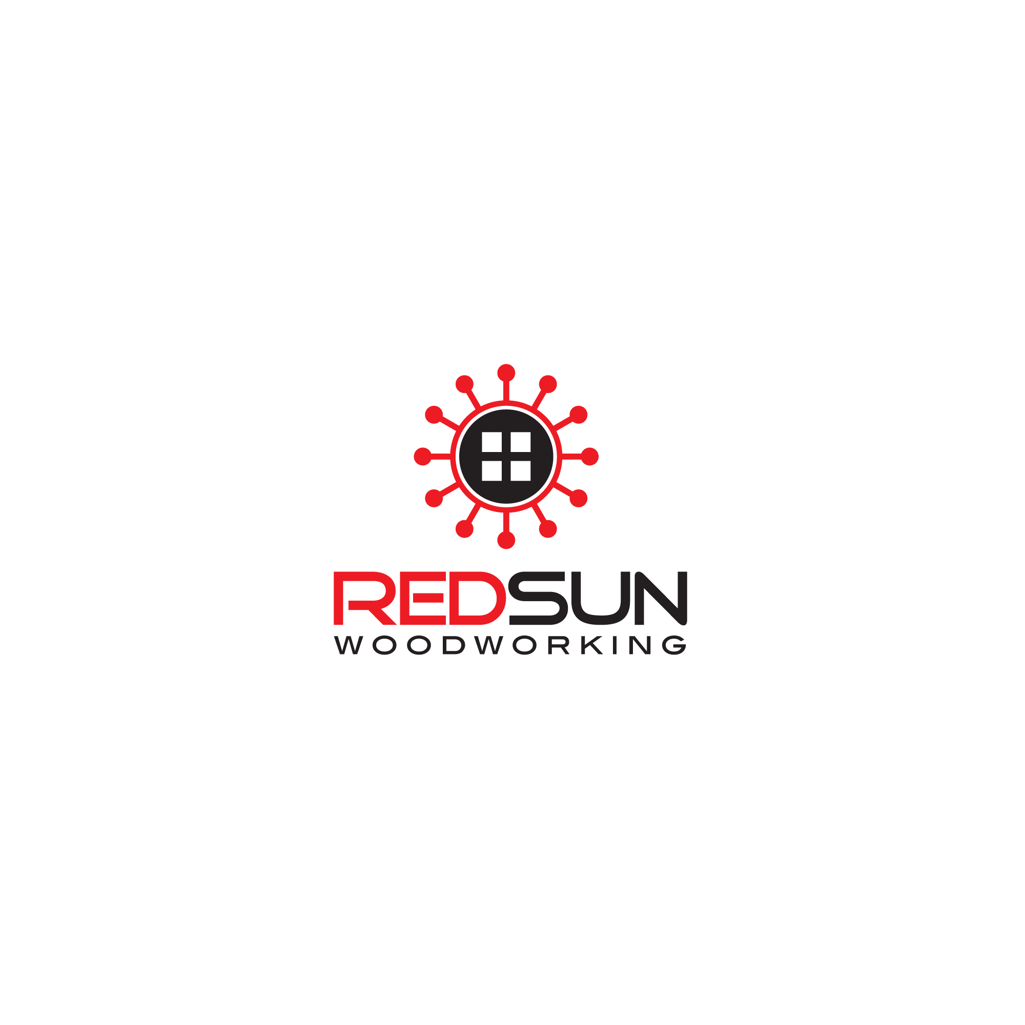 Logo Design by Mrs Suhartini - Entry No. 138 in the Logo Design Contest Red Sun Woodworking Logo Design.